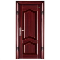 High quality steel door steel security door irdon door from china