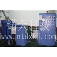 2500 degree ultra high temperature IF carbonization furnace with infrared potics temp- measurement