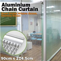 Aluminum Chain Link Metal Curtain For Shower Room
