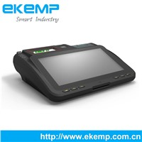 Android 10.1 inch All in one Barcode Scanner POS Terminal with Thermal Printer