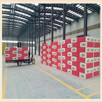 Exterior Wall Fire Resistance & Heat Insulation Rock Wool Board