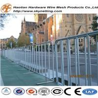 Heavy Duty Galvanized Traffic Road Safety Pedestrian Crowd Control Barriers