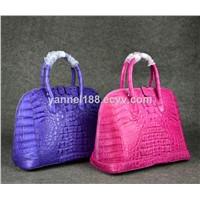 Crocodile bag#crocodile lady bag#exotic bag#real crocodile lady handbag#luxury bag