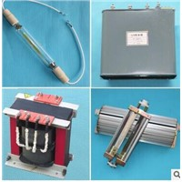 4sets 3 kw uv lamp transformer, capacitor, chimney