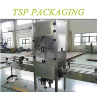 TSP brand automatic 5 gallon bottle recycle de-capping machine capps remover