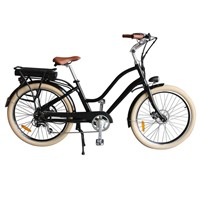 Vintage City Aluminium Alloy Lithium Battery Electric Bike (TDE-036S)