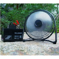 "Cheapest prie for 9"" DC12V Solar Floor Fan"