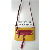 Fashion leather zipper bags