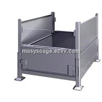 Stackable Steel Storage Bins/Pallet Stillage Cage