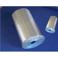 Reflective double sided aluminum foil bubble foil insulation