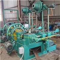 Umbrella roofing nails making machine