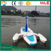 Amusement water paly water pedal bike