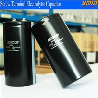High Voltage Screw Terminal Electrolytic Capacitor with Huge Capacitance for Power Inverters