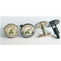 High Quality Custom Logo Brass Metal Cufflinks