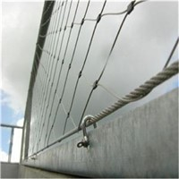 Woven Technique and Stainless Steel Wire,wire rope Material architectural metal mesh