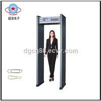 strong anti-interference high sensitivity walkthrough metal detector