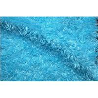 curly fleece fur fabric