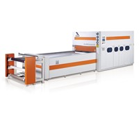 positive and negative film forming laminating machine