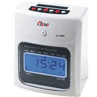 time recording / time recorder / electronic time clock from Bimi TC-099D
