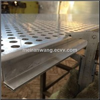 aluminium perforated facade panel/perforated metal facade panel