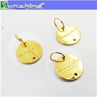 Custom garment metal tag