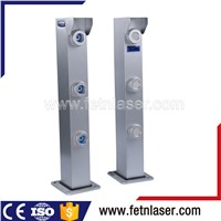 perimeter protection laser beam alarm intrusion detection systems