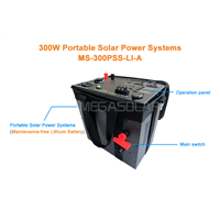 300W fashionable outdoor portable solar generator for home use