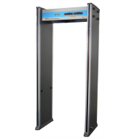 6 detection zones walkthrough metal detector
