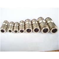 Brass pneumatic air elbow fittings brass push in fittings copper quick fitting