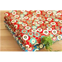 Combed cotton fabric textile