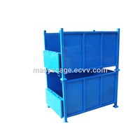 Industrial Warehouse Stackable Storage Steel Containers