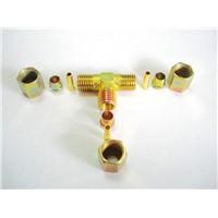 brass fitting set inserts sleeve ferrule nuts Brass Insert Nuts