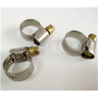 Worm drive hose clamps  stainless steel material