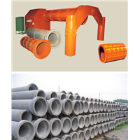cement concrete pipe making machine concrete pipe production line