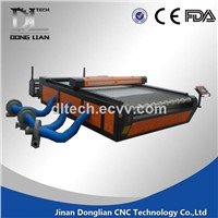 china clothing laser cutting machine and engraving cloth machine
