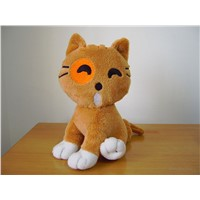 Cute Cat Plush Toys OEM, Halloween/Easter Dolls, Factory Price