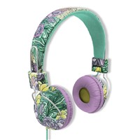 Noise canceling oem wired headphone colorful stereo music headphone with microphon