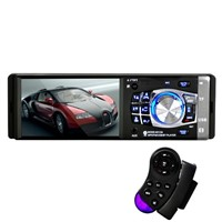 4.1 inch car bluetoth mp4 player support U-disk Steering wheel remote control 4012