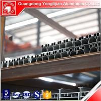 Aluminum profile for sliding wardrobe door
