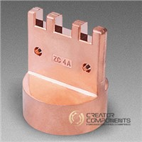 China Customized Copper Machined Forging Parts
