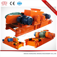 smooth tooth double roll crusher