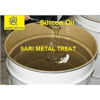 Silicon oil for mold release agent die casting material