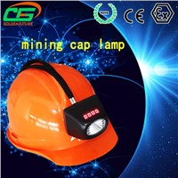 2016 new design realiable ip65 led waterproof miner cap lamp