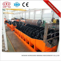 High Capacity Mining Equipment Spiral Classifier for ore beneficiation