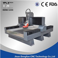 china price stone cnc router machine with heavy duty body and dust cover