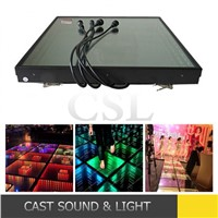2016 NEW led deep dance floor /led 3d dance floor / led stage lighting