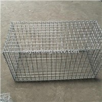 4mm hot dipped galvanized wire welded 50x50x100mm gabion basket