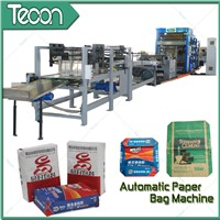 Paper Bag Machinery With 4 Color Printer
