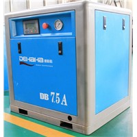 Belt driven screw compressor with multi-grade oil separator (7-13bar)