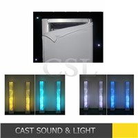 China farbic stage backdrop ,truss cover for stage truss and led par
